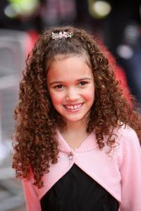 Madison Pettis at the premiere of