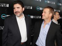 Alfred Molina and Chris O'Donnell at the premiere of TNT's