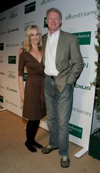 Rachelle Carson and Ed Begley, Jr. at the Sundance Channel's launch of Robert Redford's