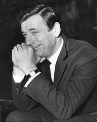 Yves Montand at the opening of Saville Theatre, to perform his internationally one-man show