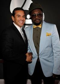 Antonio Villaraigosa and will.i.am at the 51st Annual Grammy Awards.