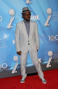 will.i.am at the 40th NAACP Image Awards.