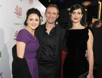 Vanessa Glodjo, Goran Kostic and Zana Marjanovic at the California premiere of