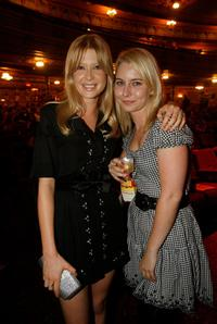 Emma Booth and Guest at the 2008 Movie Extra FilmInk Awards.
