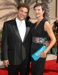 Kerri Kenney-Silver and Guest at the 2007 Creative Arts Emmy Awards.