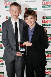 Will Poulter and Bill Milner at the Jameson Empire Magazine Awards.