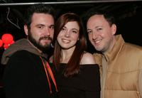 A.J. Bowen, Claire Bronson and Scott Poythress at the 2007 Sundance Film Festival.