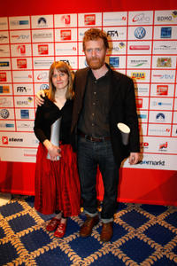 Marketa Irglova and Glen Hansard at the video night 2008 in Germany.