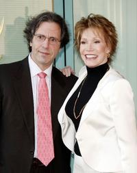 Dr. Robert Levine and Mary Tyler Moore at the Academy of Television Arts and Sciences celebrating Betty White's 60 years on television.