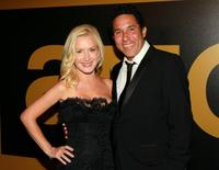 Angela Kinsey and Oscar Nunez at the 62nd Annual EMMY Awards.