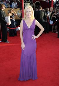 Angela Kinsey at the 16th Annual Screen Actors Guild Awards.