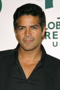 Esai Morales at the Global Green USA 3rd annual pre-Oscar party.