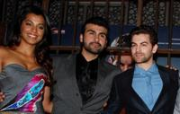 Mugdha Godse, Arya Babbar and Neil Niti Mukesh at the soundtrack launch of