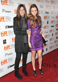 Catherine Keener and Liana Liberato at the Canada premiere of