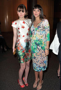 Liana Liberato and photographer Zoe Buckman at the California premiere of