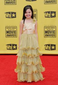 Bailee Madison at the 15th Annual Critics Choice Movie Awards.
