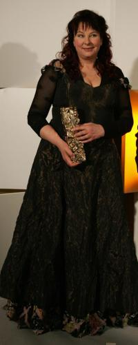 Yolande Moreau at the 30th Nuit des Cesar, France's top movie awards.