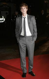 Andrew Garfield at the world premiere of