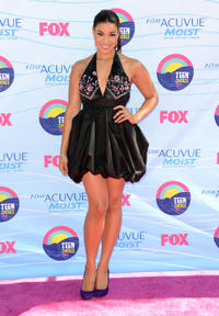 Jordin Sparks at the 2012 Teen Choice Awards in California.