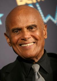 Harry Belafonte in the press room at 2006 BET Awards.