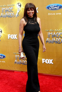 Debbi Morgan at the 41st NAACP Image awards in California.