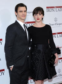 Harry Lloyd and Alexandra Roach at the New York premiere of
