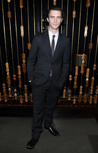 Harry Lloyd at the New York premiere of