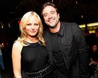 Malin Akerman and Jeffrey Dean Morgan at the William Morris Agency party during the 2008 Comic Con.