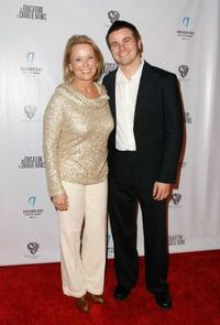 Nancy Morgan and Jason Ritter at the screening of