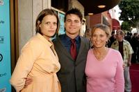 Marianna Palka, Jason Ritter and Nancy Morgan at the premiere of