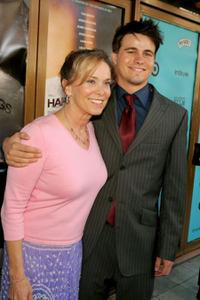 Nancy Morgan and Jason Ritter at the premiere of