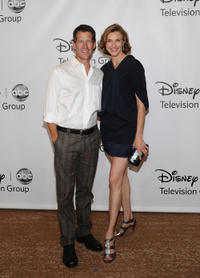 James Denton and Brenda Strong at the Disney ABC Television Group's