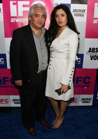 Pedro Castaneda and Veronica Loren at the IFC party celebrating the spirit of independent film.