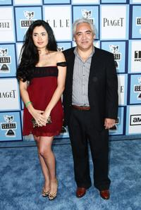Veronica Loren and Pedro Castaneda at the 2008 Film Independent's Spirit Awards.