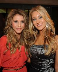 Julianne Hough and Whitney Duncan at the 47th Annual ASCAP Country Music Awards.