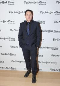 Trent Reznor at the 10th Annual New York Times Arts & Leisure Weekend.