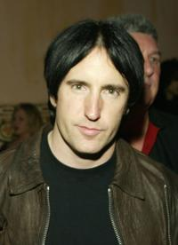 Trent Reznor at the William Morris Agency Post Grammy party.