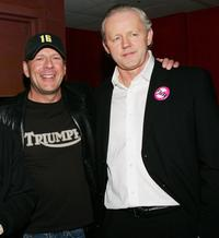 Bruce Willis and David Morse at the after party of the premiere of