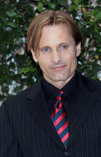 Viggo Mortensen at Rome for the photocall of