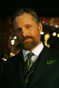 Viggo Mortensen at the Orange British Academy Film Awards.