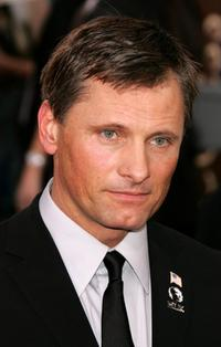 Viggo Mortensen at the 63rd Annual Golden Globe Awards.