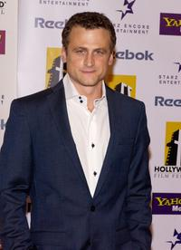 David Moscow at the Hollywood Awards Gala.