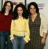 Stephanie Kahn, Senta Moses and director Julie Stevens at the screening of