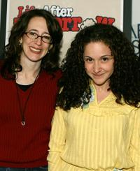 Stephanie Kahn and Senta Moses at the screening of