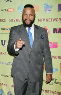 Mr. T at the MTV Networks 2006 Upfront: Feed The Need.