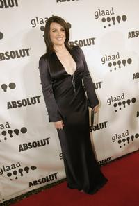 Megan Mullally at the 17th Annual GLAAD Media Awards.