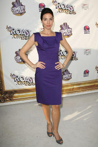 Whitney Cummings at the Comedy Central Roast of Joan Rivers in California.