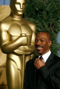 Eddie Murphy at the 79th annual Academy Award nominees luncheon.