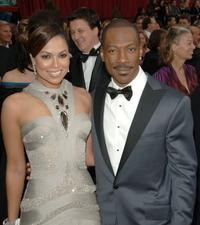 Eddie Murphy and Tracey Edmonds at the 79th Annual Academy Awards.
