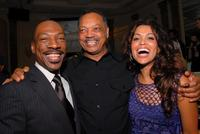 Eddie Murphy, Reverend Jesse Jackson and Tracy Edmonds at the Black Enterprises Top 50 Hollywood Power Brokers Celebration.
